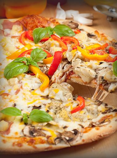 Pizza-Tag auch zum Mitnehmen, jede Pizza 5€